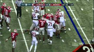 Alec Ogletree vs Alabama (2012)