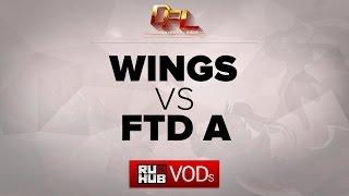 Wings vs FTD, game 1