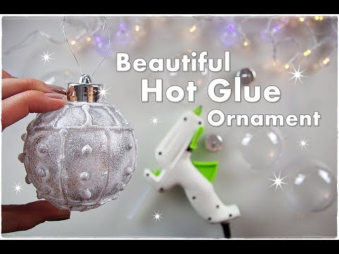 DIY Easy Hot Glue Ornament for Christmas   Maremi's Small Art