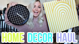 HOME DECOR HAUL + HOUSE SNEAK PEEK!! by Aspyn + Parker
