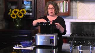 4 Quart Programmable Slow Cooker Demo Video Icon