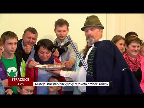 TVS: Strážnice - Muzejní noc nabídla výjevy z hraběcí rodiny