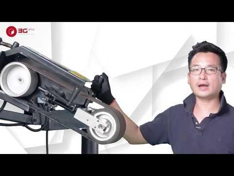 3GV-MCC: Máy mài cần cột - Máy mài đai nhám số 1 Việt Nam