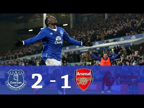Everton vs Arsenal 2 - 1 • Gols e Melhores Momentos • Premier League 13/12/2016