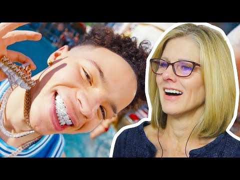 Mom REACTS to Lil Mosey - Blueberry Faygo (Dir. by @_ColeBennett_)