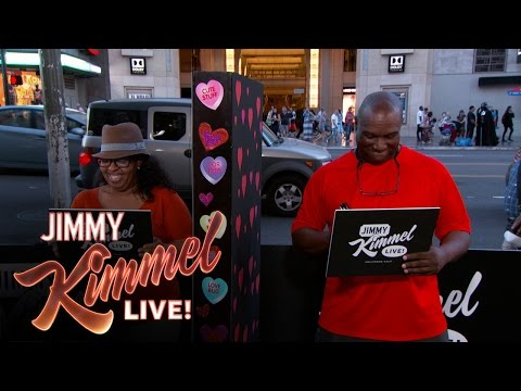 "VIDEO: Jimmy Kimmel Asks ""How Many Times A Month Do You...."" LOL"