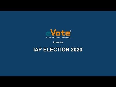 eVote  - IAP Election Process 2020