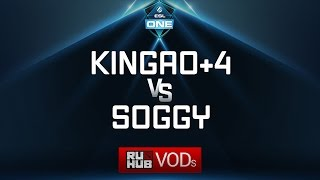 Kingao+4 vs Soggy, ESL One Genting Quals, game 1 [Jam, Mila]