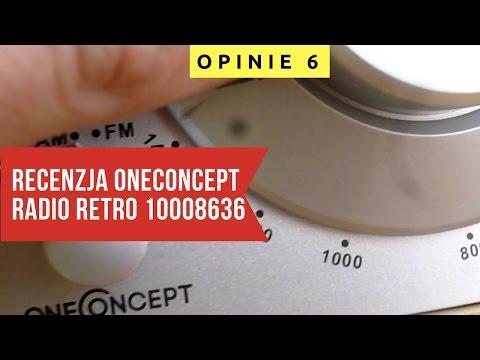 ⚪️ OneConcept Lausanne Nostalgie - Radio Retro ⚪️