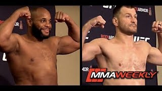 UFC 241 Official Weigh-in: Daniel Cormier vs Stipe Miocic by MMA Weekly