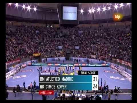 2011/12.- BM Atlético Madrid 31 Vs RK Cimos Koper 24 (Cuartos Vta. EHF Champions League)