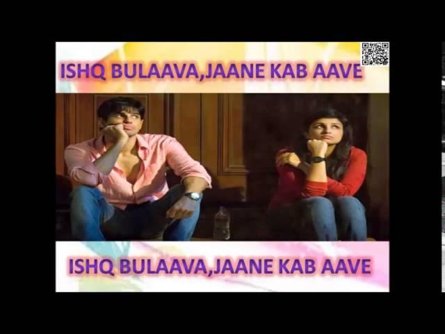 Ishq Bulava Hasee Toh Phasee Sidharth Malhotra And