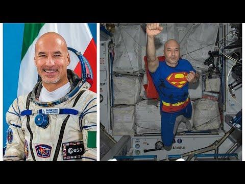 Λούκα Παρμιτάνο: Ο ανταποκριτής του Euronews στο διάστημα!