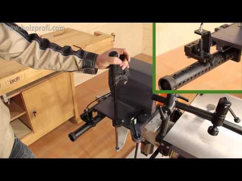 Mühelos Löcher, Langlöcher in Holz bohren und stemmen mit der Langlochbohrmaschine LBM200