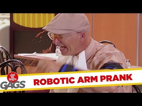 Robotic Arm Prank
