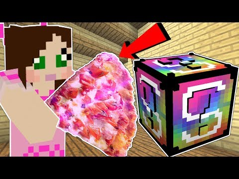 Minecraft: VIDEO GAMES LUCKY BLOCK! (GIANT FOOD, MARIO ARMOR, & MORE!) Mod Showcase