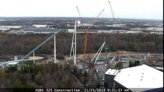 Time lapse video of Fury 325 construction