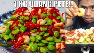 Download Video GILAA!! MUKBANG 2 KILO PETAI UDANG BALADO NASI MP3 3GP MP4