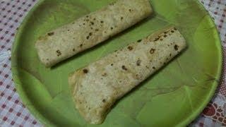 How to make chapati batter&chapati