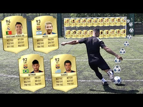 EXTREME FIFA 17 WORLD XI ULTIMATE TEAM BATTLE | BILLY VS JEZZA