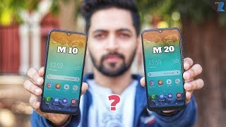 Samsung Galaxy M10 & M20 - Unboxing | 5000 mAh, Fast Charging | Masterstroke by Samsung?