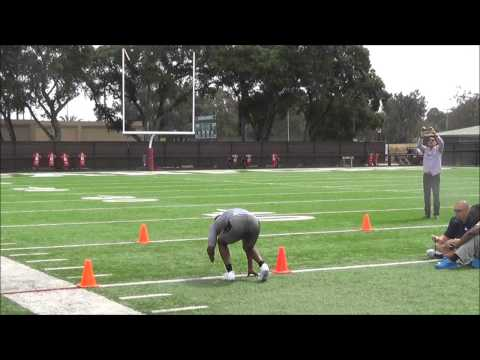Jerry Rice Jr. 2014 Pro Day video.