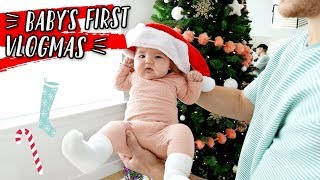 BABY'S FIRST VLOGMAS! DAY 1 + HOUSE CLEANING! by Aspyn + Parker