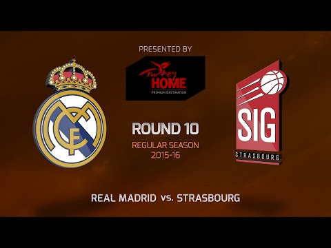 Highlights: RS Round 10, Real Madrid 97-65 Strasbourg