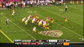 Robert Woods vs UCLA & Notre Dame (2012)