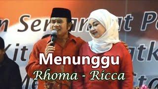 Video Menunggu ~  Rhoma dan Ricca (Mesra DiPanggung) MP3, 3GP, MP4, WEBM, AVI, FLV Februari 2018