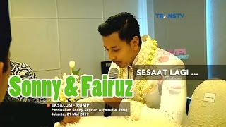 Video Eksklusif Pernikahan SONNY SEPTIAN & FAIRUZ A.RAFIQ • Rumpi 23 Mei 2017 MP3, 3GP, MP4, WEBM, AVI, FLV Juli 2019