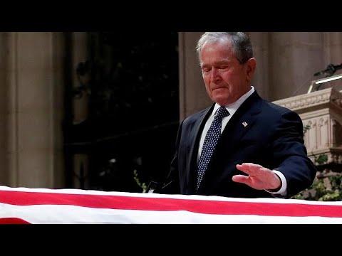 Οι ΗΠΑ αποχαιρετούν τον Τζορτζ Ουόκερ Μπους