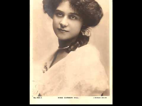 British Contralto Carmen Hill ~ Rose in the Bud (c. 1913?)