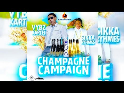 Vybz Kartel ft Sikka Rymes  - Champagne Campaign (Official Audio) 2020