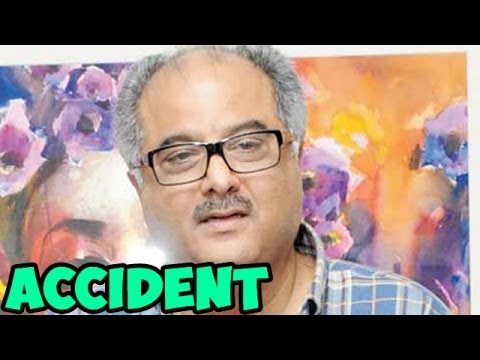 Boney Kapoor meets with an ACCIDENT