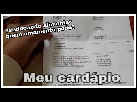 Meu Cardápio e Lista De Substituição da Nutricionista Completo/amamentando Pode?