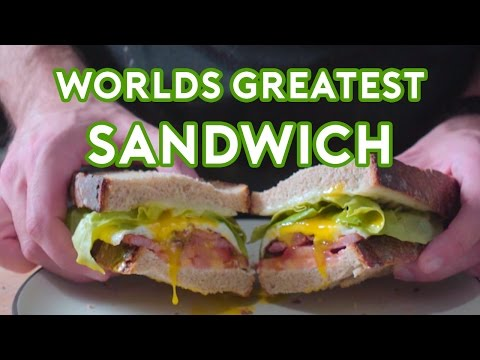 Chef Recreates the World s Greatest Sandwich From