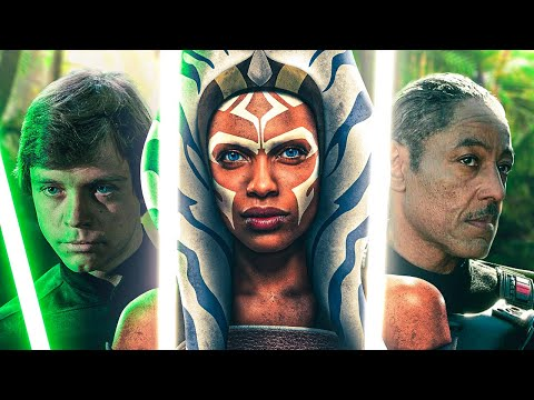 Luke and Ahsoka in The Mandalorian Season 2 - Star Wars Theory