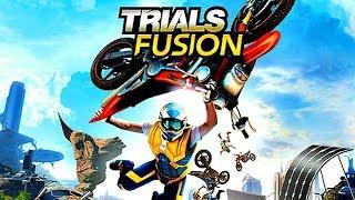 Trials Fusion Deutsch PS4 - Kranke Sprünge kranker Scheiß - Let's Play Trials Fusion Gameplay German