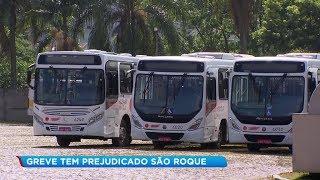 Motoristas cruzam os braços e deixam usuários sem transporte coletivo em São Roque