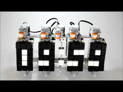 0 Hans Andersson   Time Twister: LEGO Mindstorms Digital Clock | Video