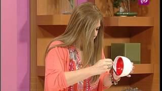 فاي سابا تتحدث عن تزيين اواني المطبخ | Roya