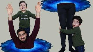 Sihirli Saklambaç! Hide and Seek with Magic Toy Basket-Funny Kids Video