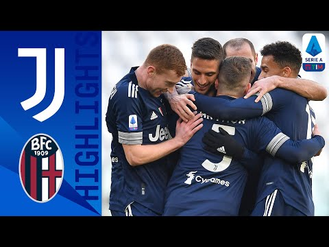 Juventus 2-0 Bologna | Juve close the gap on top spot with victory over Bologna | Serie A TIM