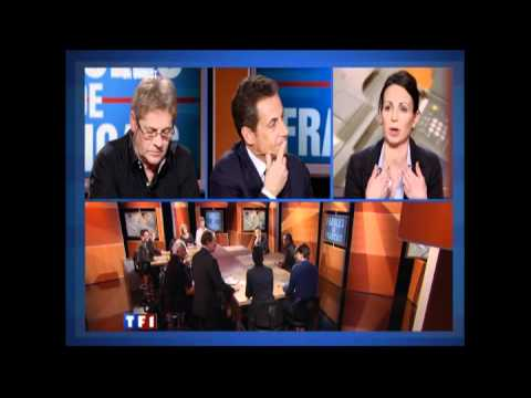 """Emission télévisée sur TF1 : Nicolas Sarkozy répond à 9 Français dans """"Paroles de Français"""""""