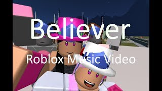 [SnapCat101 50K Contest] Believer - Imagine Dragons | ROBLOX Music Video