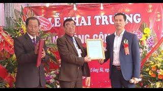 Khai trương Văn phòng công chứng Mạc Văn Quang