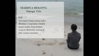 Mardua Holong - Omega Trio      Lagu Batak    Lirik Batak