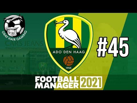 TITLE HOPES ALIVE?! - Episode 45 - FM21 - ADO DEN HAAG - Football Manager 2021