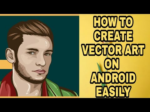How To Create Vector Art In Android/adobe Illustrator Draw Full Tutorial